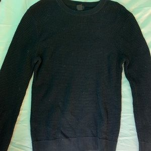 Men's H&M black sweater size medium